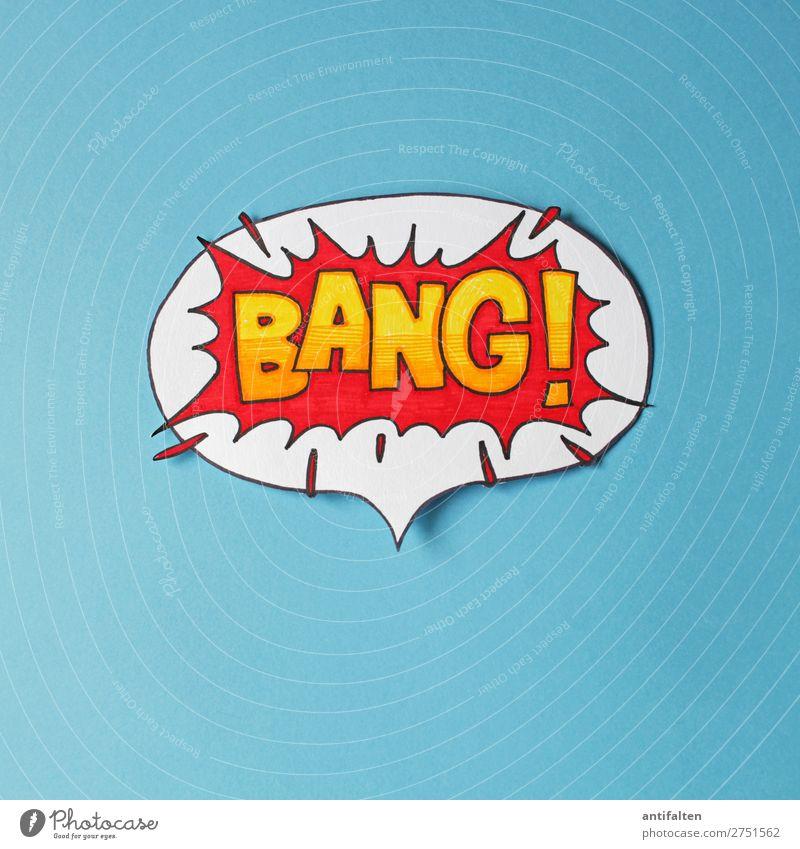 BANG! rot Freude Lifestyle Graffiti Feste & Feiern Kunst Party Design Freizeit & Hobby Schriftzeichen Geburtstag Schilder & Markierungen verrückt Buch