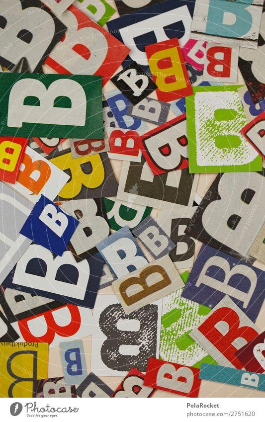 #A# BBBBB Kunst Kunstwerk ästhetisch Kreativität Buchstaben Buchstabensuppe Buchstabennudeln viele Telekommunikation Wort Farbfoto mehrfarbig Innenaufnahme