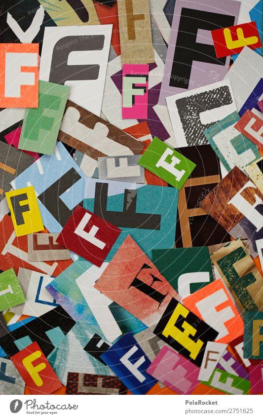 #A# FFFFF Kunst Kunstwerk ästhetisch Buchstaben Buchstabensuppe Buchstabennudeln viele Kreativität gestalten Design Farbfoto mehrfarbig Innenaufnahme