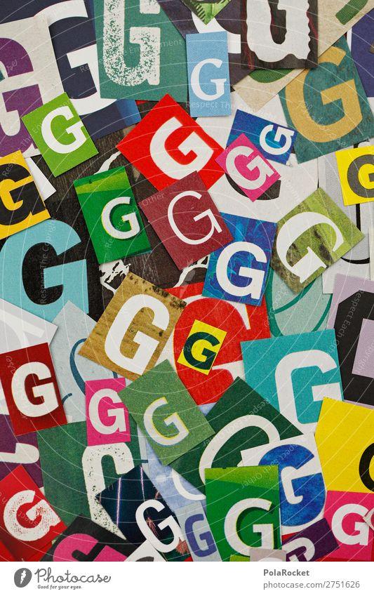 #A# GGGGG Kunst Kunstwerk ästhetisch viele Buchstaben Buchstabensuppe Typographie gestalten Schriftzeichen Design Farbfoto mehrfarbig Innenaufnahme