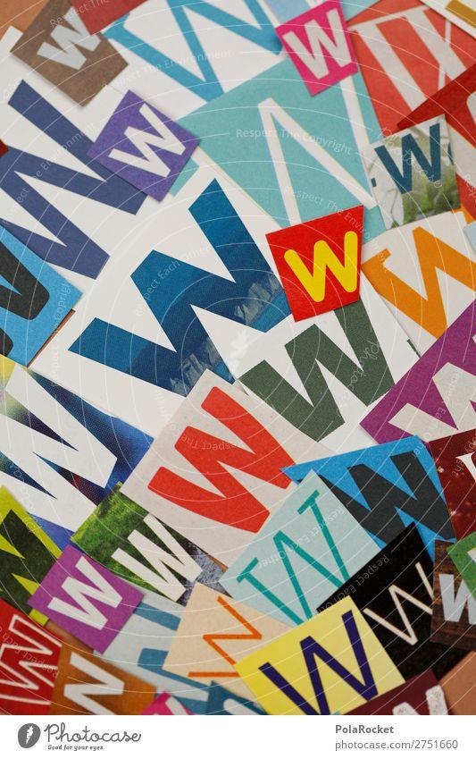 #A# WWWWW Kunst Kunstwerk ästhetisch Internet Buchstaben Buchstabensuppe Buchstabennudeln Typographie viele Wort Design gestalten Farbfoto mehrfarbig