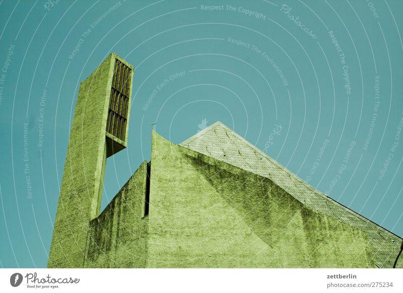 Norbert Stadt Hauptstadt Stadtzentrum Menschenleer Haus Kirche Bauwerk Gebäude Architektur Dach neu Kirchturm Kirchturmspitze modern Beton Ecke trocken