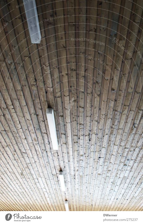 Reihenschaltung Häusliches Leben Haus Innenarchitektur Dekoration & Verzierung Lampe Gebäude Architektur Mauer Wand Fassade Dach Holz dunkel lang retro braun