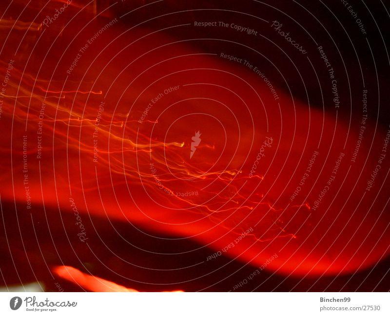 Querrot rot schwarz Hintergrundbild quer Leuchtfeuer