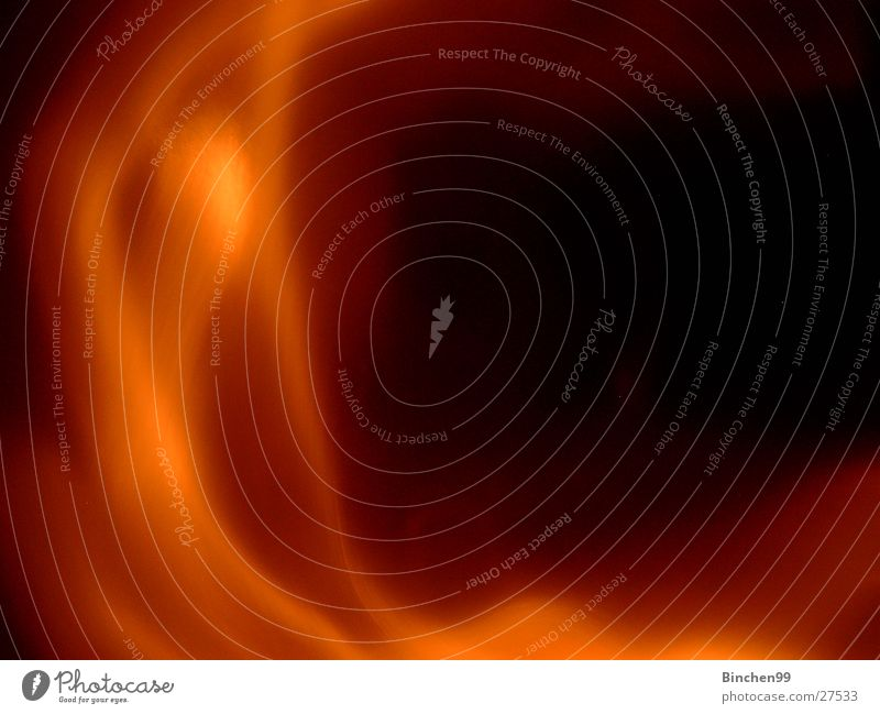Feuerrauch rot schwarz braun orange Rauch Wasserdampf