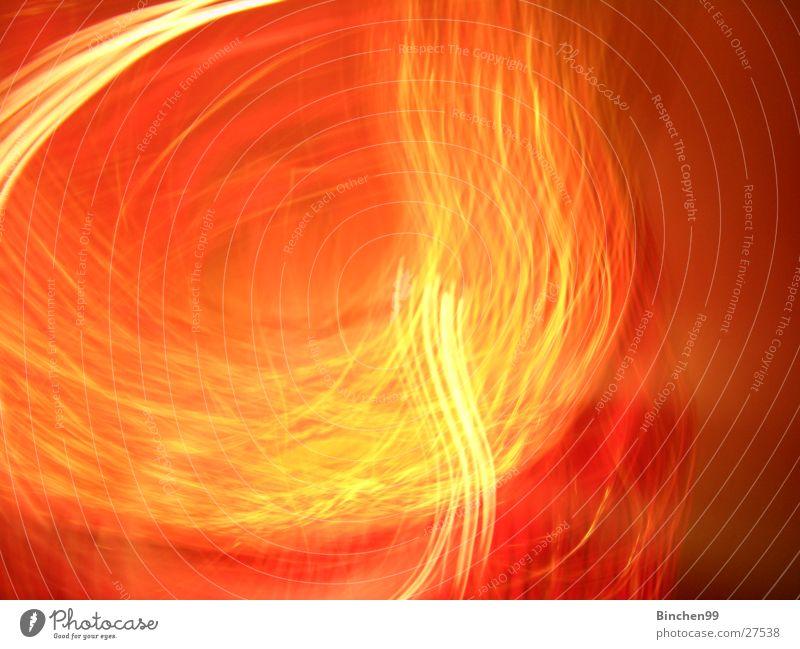 Feuerfarben rot gelb Langzeitbelichtung Hintergrundbild orange