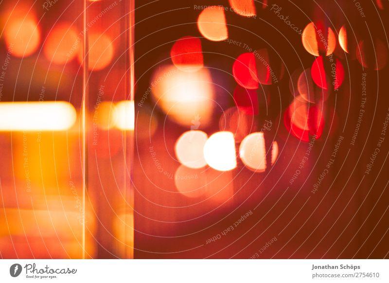 Bokeh in rot an Glasscheibe in der Stadt Hintergrundbild rosa gefährlich Trauer Sehnsucht Schmerz Scham Liebeskummer Enttäuschung Heimweh Unlust Korallen