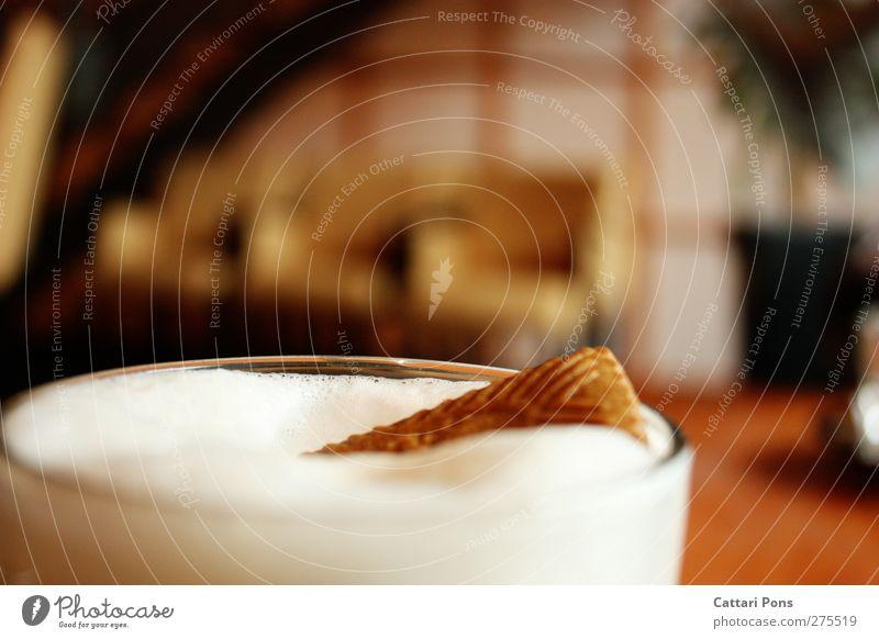 Ohayo gozaimasu... Lebensmittel Teigwaren Backwaren Keks Frühstück Kaffeetrinken Getränk Heißgetränk Kakao Latte Macchiato Schaum Schaumblase Freizeit & Hobby