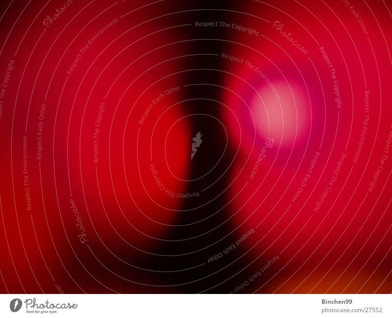 Rot - Rot rot schwarz 2 Unschärfe gegeneinander Makroaufnahme Nahaufnahme Gesprächspartner