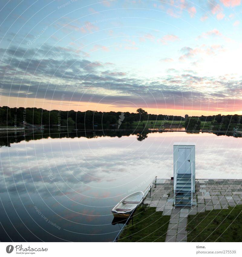 1700 | Thx! Himmel Wasser Einsamkeit Wolken Wald Landschaft Umwelt Wiese Leben Gebäude See Horizont ästhetisch Schönes Wetter Turm Vergänglichkeit