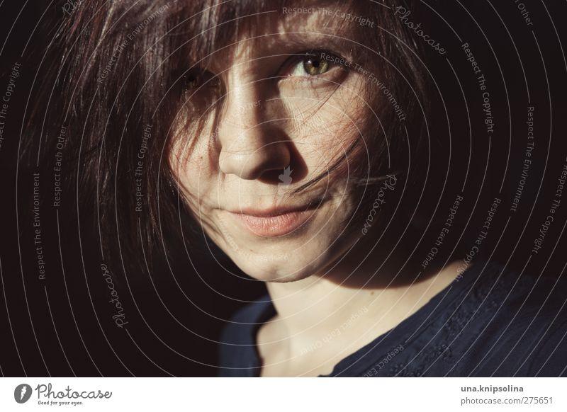 es gibt nichts, was man nicht tut Mensch Frau Jugendliche Freude Erwachsene Gesicht feminin Gefühle Haare & Frisuren Junge Frau Glück Zufriedenheit 18-30 Jahre