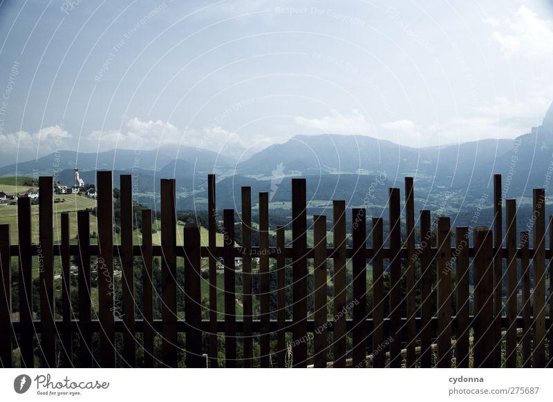 Absperrung harmonisch Erholung ruhig Ferien & Urlaub & Reisen Tourismus Ausflug Abenteuer Ferne Freiheit wandern Umwelt Natur Landschaft Himmel Sommer