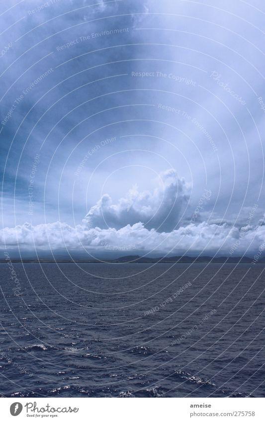 Der Himmel über Kauai II Ferien & Urlaub & Reisen Kreuzfahrt Sommerurlaub Sonne Meer Insel Wellen Wasser Wolken Schönes Wetter schlechtes Wetter Hawaii
