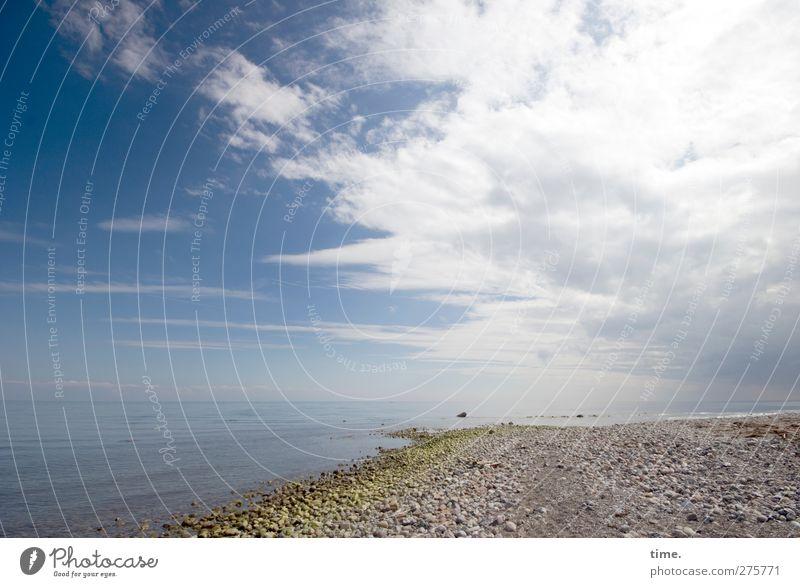 Hiddensee | Maurerparadies (de luxe version) Umwelt Natur Landschaft Erde Wasser Himmel Wolken Horizont Schönes Wetter Küste Strand Ostsee Stein ästhetisch