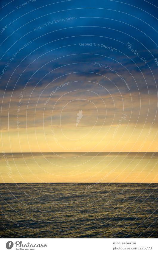 Hiddensee | Doppel Drama! Himmel Wasser Ferien & Urlaub & Reisen Meer Strand Wolken Ferne Umwelt dunkel Horizont Schwimmen & Baden Wetter Wellen Wind Angst