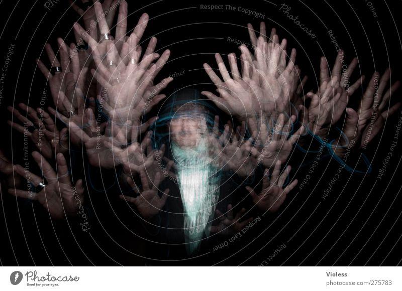 .....Magic 200 Mann Erwachsene Hand 1 Mensch 45-60 Jahre außergewöhnlich dunkel fantastisch verrückt Euphorie Macht Zauberei u. Magie Stroboskop
