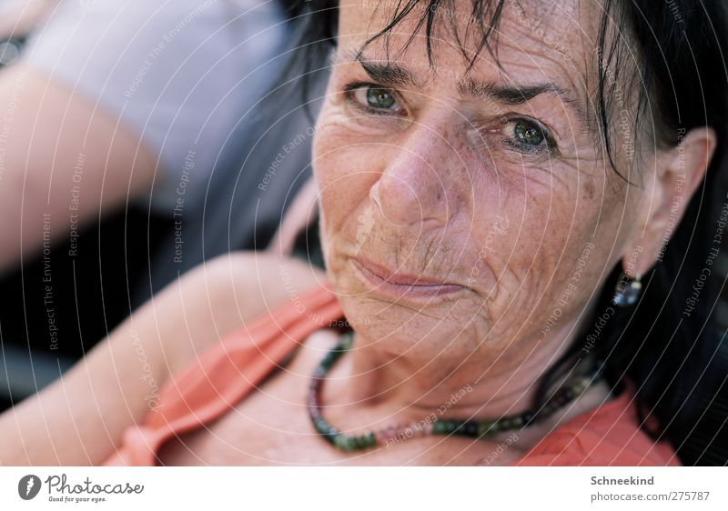 ...Die Schönheit des Alters... Mensch Frau schön Erwachsene Gesicht Auge Leben Senior feminin Haare & Frisuren Kopf Mund 45-60 Jahre Nase beobachten Mutter