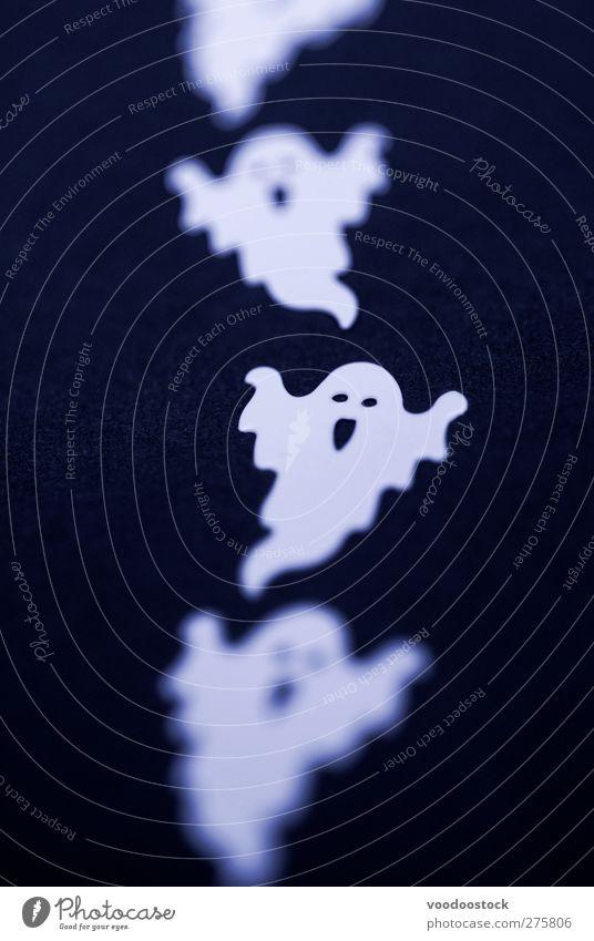 weiß schwarz Linie fliegen Dekoration & Verzierung gruselig Geister u. Gespenster Halloween spukhaft geisterhaft