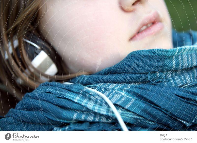 easy listening Mensch Kind Ferien & Urlaub & Reisen Erholung Leben Gefühle Stimmung liegen Kindheit Freizeit & Hobby Lifestyle Pause Technik & Technologie