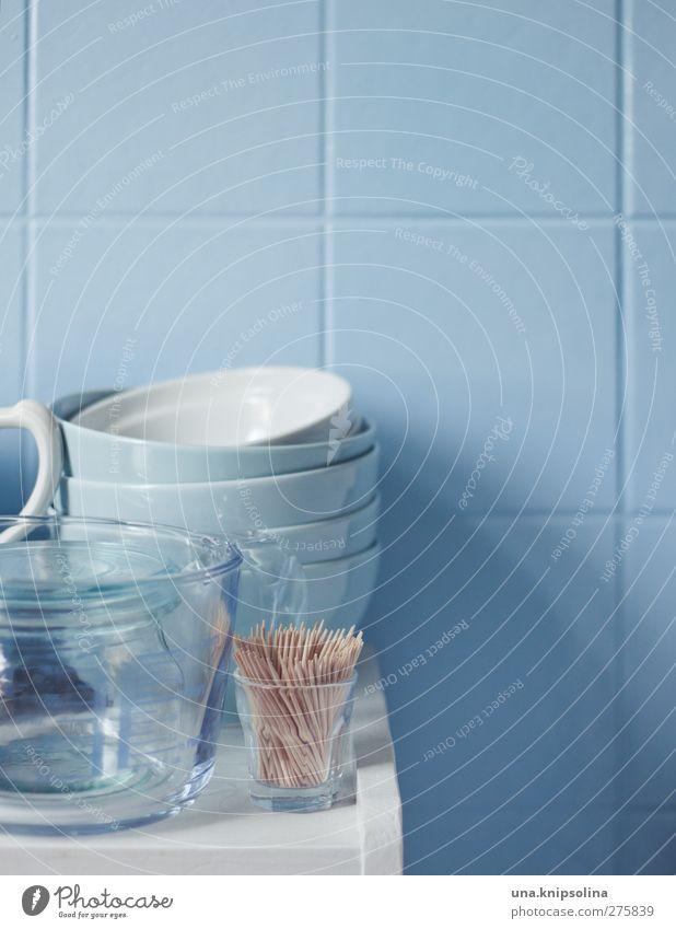 babyblau Geschirr Schalen & Schüsseln Glas Kannen Messbecher Stil Design Häusliches Leben Dekoration & Verzierung Küche Fliesen u. Kacheln Mauer Wand rund