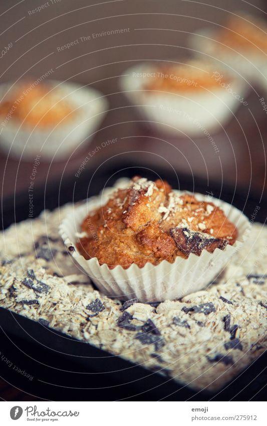 Brot Getreide Teigwaren Backwaren Brötchen Kuchen Dessert Ernährung Slowfood Fingerfood lecker Müsli Haferflocken Muffin Farbfoto Innenaufnahme Nahaufnahme