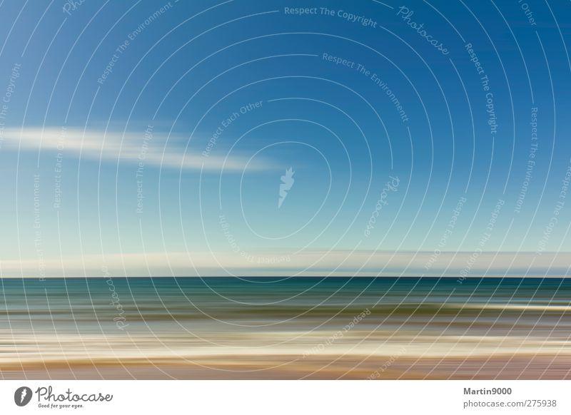 Seascape I Natur blau Wasser weiß grün Sommer Sonne Meer Strand Erholung Landschaft Freiheit Küste See Luft Wellen