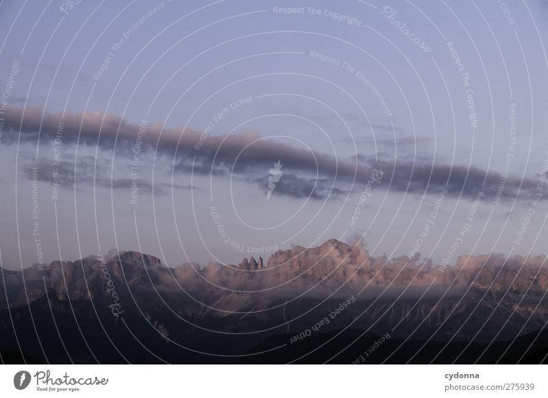 Rosengarten Himmel Natur Ferien & Urlaub & Reisen schön Einsamkeit ruhig Erholung Landschaft Ferne Umwelt Berge u. Gebirge Freiheit träumen Horizont wandern