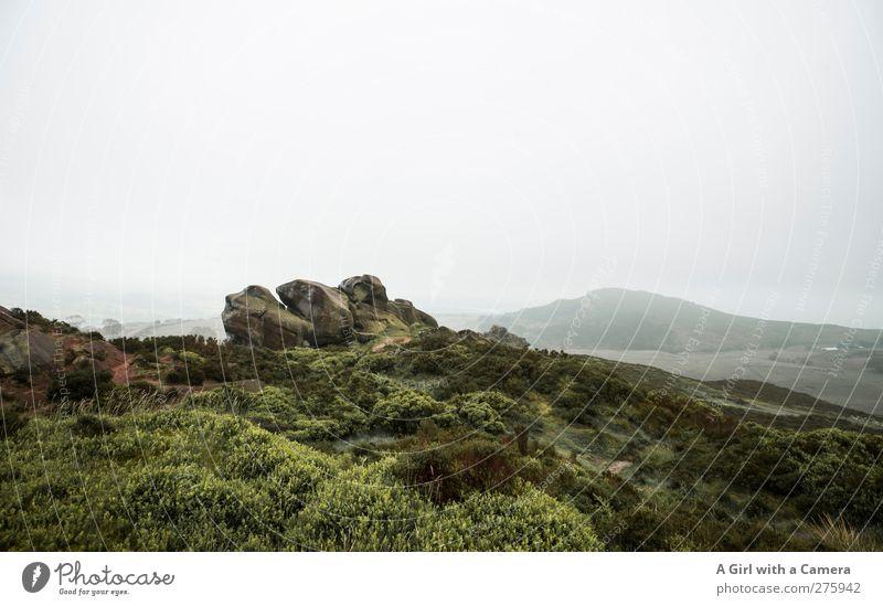 your imagination Umwelt Natur Landschaft Pflanze Urelemente Himmel Wolken Horizont Frühling Klima Klimawandel Wetter schlechtes Wetter Nebel Hügel Felsen