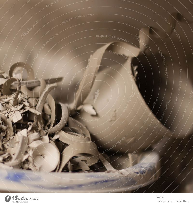 Fehlproduktion Kunst braun Arbeit & Erwerbstätigkeit Erde kaputt Müll Beruf Werkstatt Handwerker Berufsausbildung Recycling Rest Selbstständigkeit Fehler Azubi