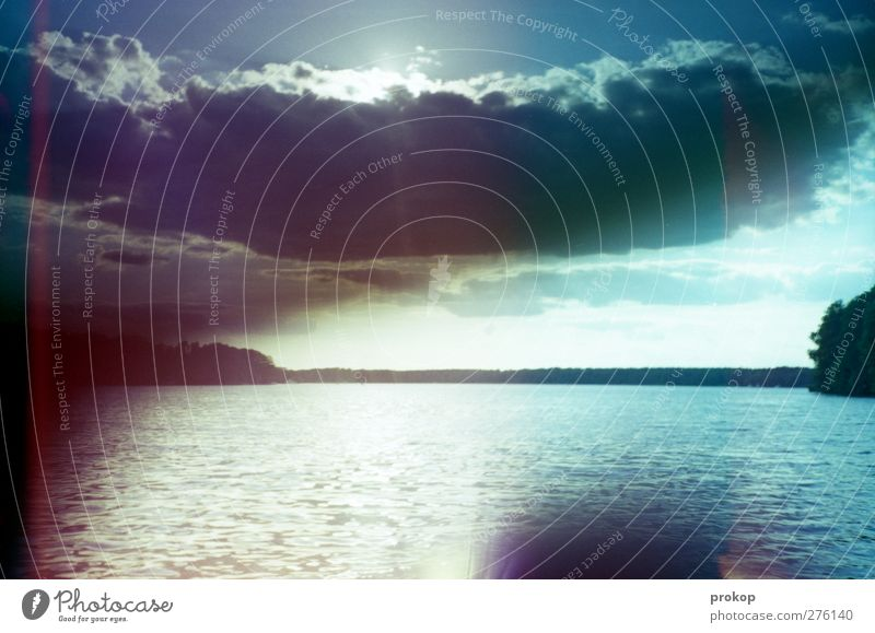 Heavy Duty Umwelt Natur Landschaft Urelemente Luft Wasser Himmel Wolken Gewitterwolken Sonne Sonnenlicht Frühling Sommer Klima Wetter Unwetter Küste Seeufer