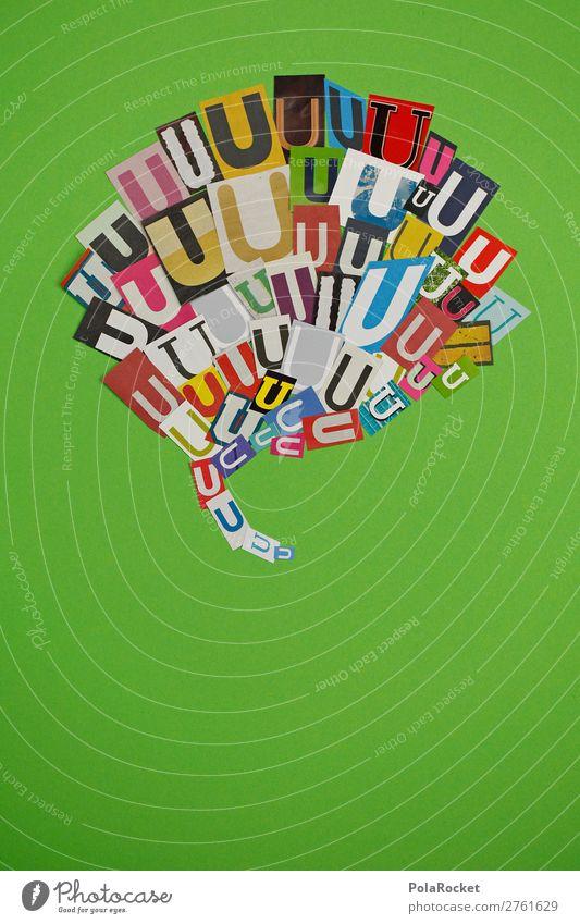 #AJ# U wie Ulrich Kunst Kunstwerk ästhetisch Buchstaben Buchstabensuppe Buchstabennudeln Schriftzeichen Typographie Telekommunikation sprechen Kommunizieren