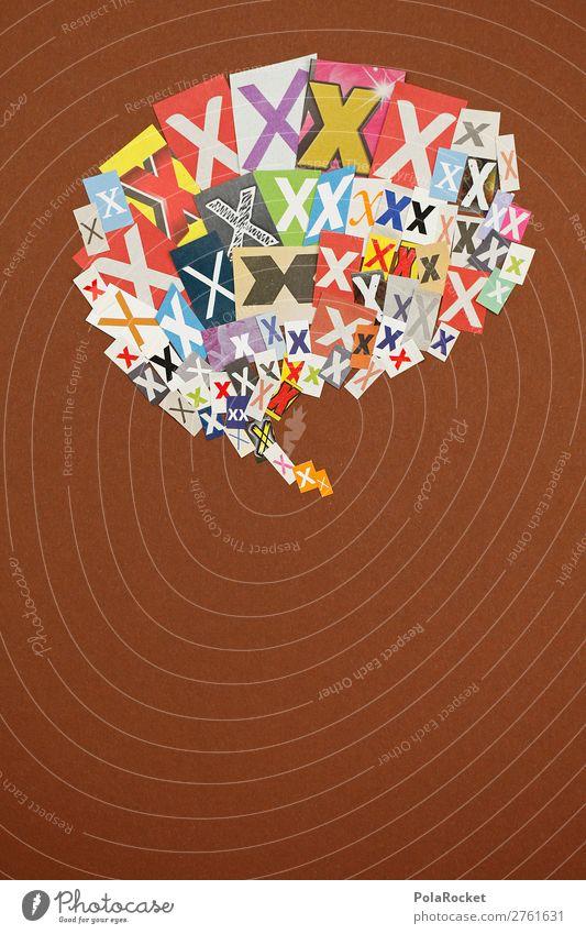 #AJ# X wie Xanthippe Kunst Kunstwerk ästhetisch x Buchstaben Buchstabensuppe Buchstabennudeln Typographie Schriftzeichen Telekommunikation sprechen