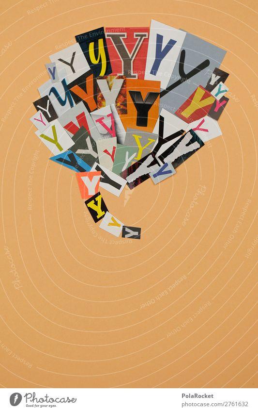 #AJ# Y wie Ypsilon Kunst ästhetisch y Buchstaben Buchstabensuppe Buchstabennudeln Typographie Schriftzeichen viele Kommunizieren kommunikativ