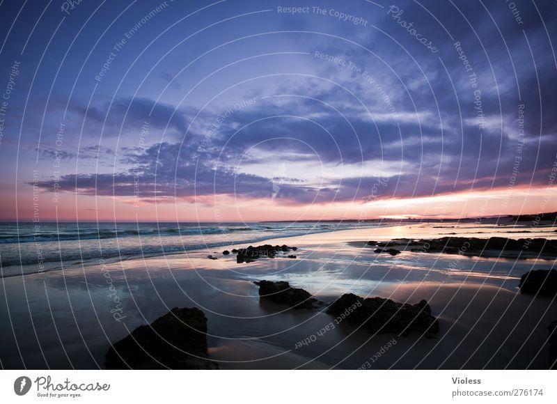 ...endlessdream Natur Landschaft Himmel Wolken Sonnenaufgang Sonnenuntergang Sommer Schönes Wetter Wellen Küste Strand Meer Erholung genießen