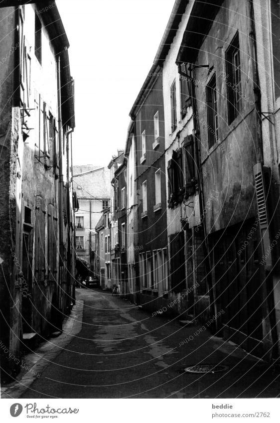 Gasse Elsass Mauer Frankreich Architektur Straße