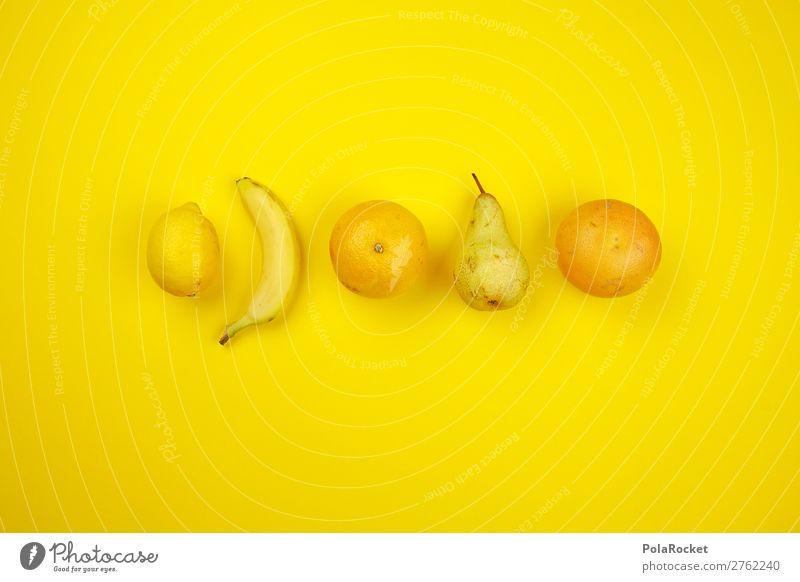 #A# Obst-Gelb Kunst ästhetisch Frucht Obstgarten Obstkorb Obst- oder Gemüsestand Obstschale Obstladen Vitamin vitaminreich Vitamin C gelb Farbfoto mehrfarbig
