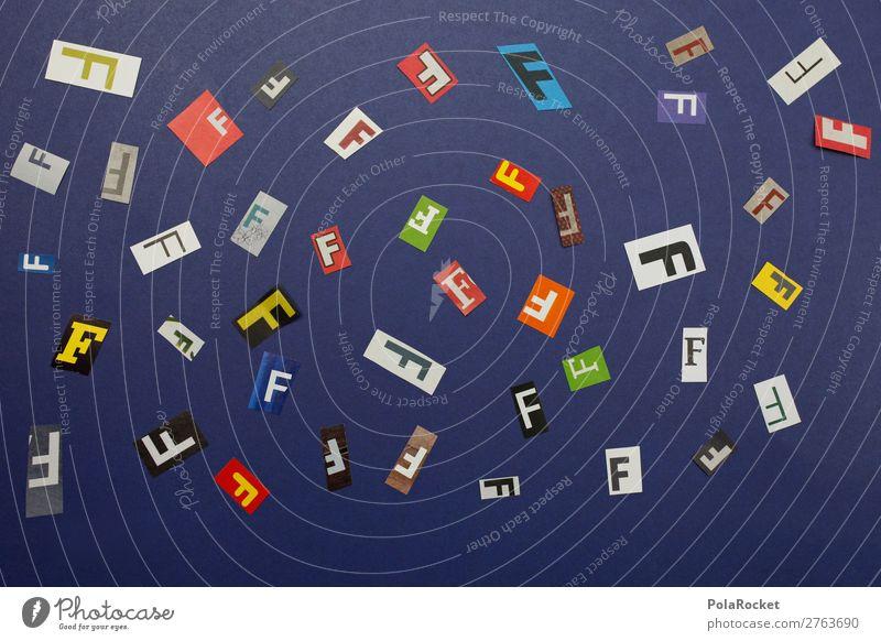 #A# in the mix Kunst Kunstwerk ästhetisch F Buchstaben Buchstabensuppe viele Vielfältig Design Integration Kreativität Idee Farbfoto mehrfarbig Innenaufnahme