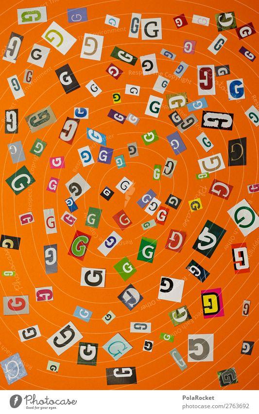 #A# GMIX Kunst Kunstwerk ästhetisch Typographie Buchstaben Buchstabensuppe viele Schriftzeichen Design Designwerkstatt Kreativität Farbfoto mehrfarbig