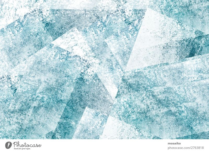 graphische Muster - Farbspiel Lifestyle elegant Stil Design Freude Wellness Leben Party Kunst außergewöhnlich trendy blau türkis weiß ästhetisch Farbe
