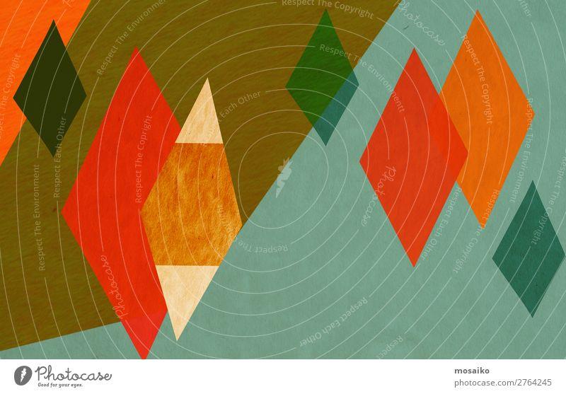Farbenfrohe Grafische Formen Lifestyle elegant Stil Design exotisch Freude Leben Wohlgefühl Zufriedenheit Feste & Feiern Karneval Kunst Ausstellung Kunstwerk