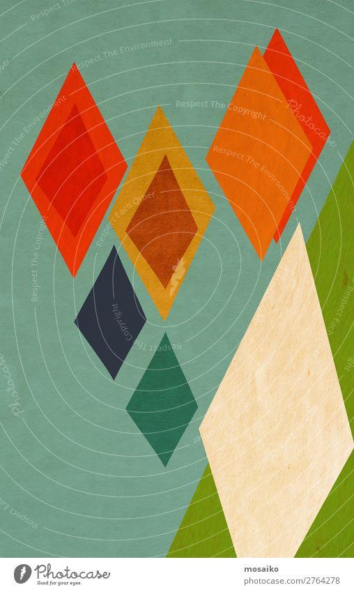 farbenfrohe geometrische Formen elegant Stil Design Freude Leben harmonisch Wohlgefühl Dekoration & Verzierung Tapete Entertainment Veranstaltung Business