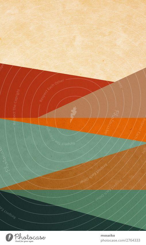 farbenfrohe geometrische Formen - Grafikdesign Lifestyle elegant Stil Design exotisch Freude Leben harmonisch Wohlgefühl Meditation Freizeit & Hobby
