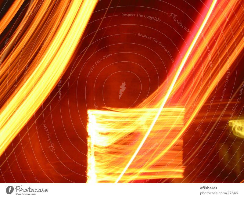 fastmotion Bewegungsunschärfe Nacht Geschwindigkeit Leuchtreklame Langzeitbelichtung Licht Reaktionen u. Effekte