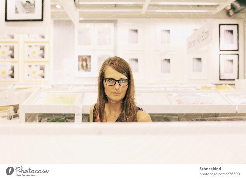 Bilderwelten Mensch Frau Jugendliche schön Erwachsene Gesicht Auge feminin Leben Junge Frau Haare & Frisuren Kopf Stil 18-30 Jahre Mund Nase