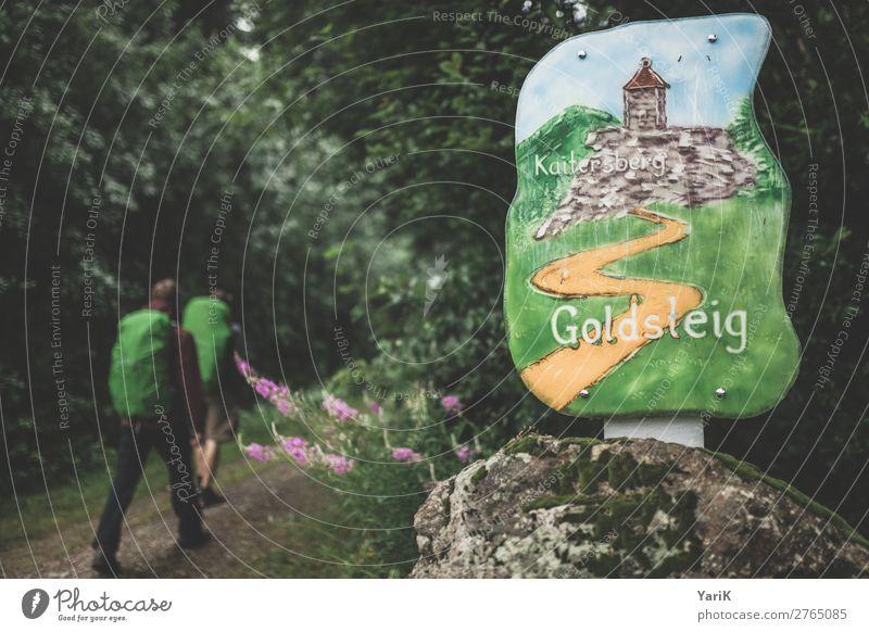 Wandertag 12Tausender 8 Mensch Ferien & Urlaub & Reisen Natur Mann Sommer Wald Ferne Berge u. Gebirge Erwachsene Herbst Frühling Tourismus Freiheit Stein