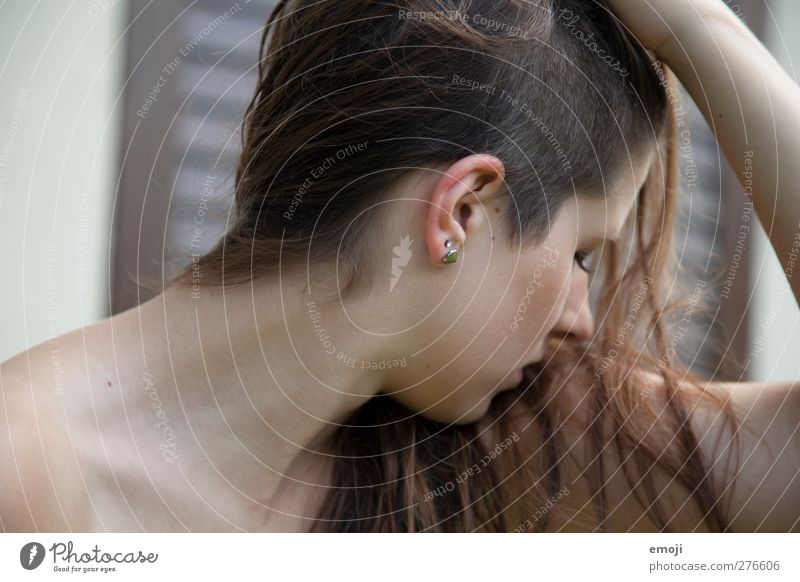 untitled Mensch Jugendliche schön Erwachsene feminin Junge Frau Haare & Frisuren 18-30 Jahre einzigartig brünett langhaarig