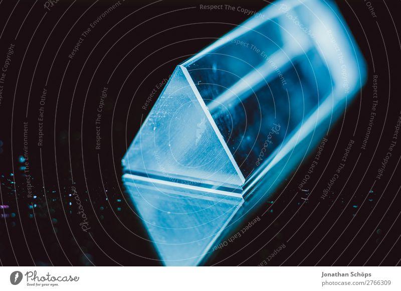 Prisma Laser Sci-fi Hintergrund blau Farbe rot schwarz Hintergrundbild retro leuchten Technik & Technologie Glas Zukunft Weltall Urelemente Futurismus