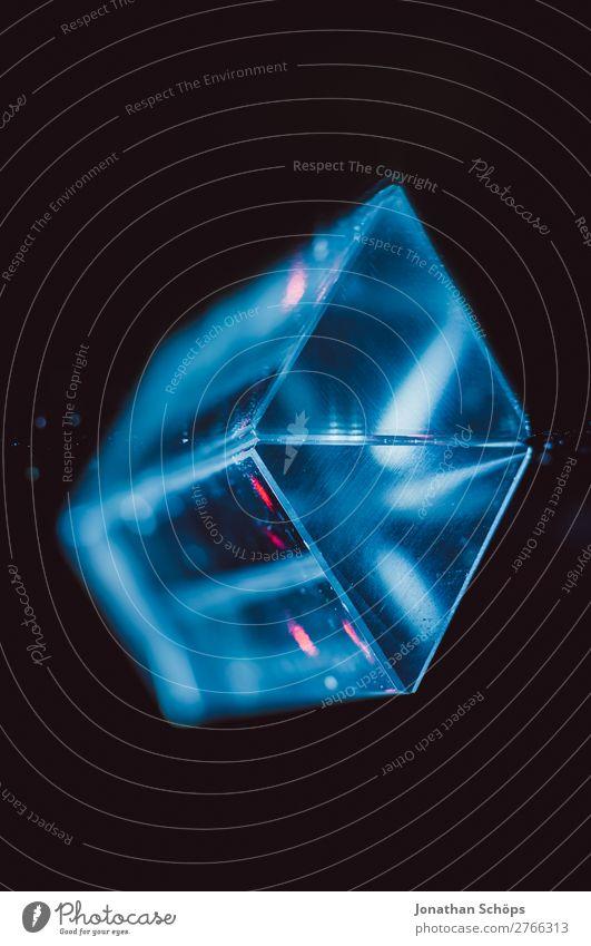 futuristischer Prisma Kristall Hintergrund Außerirdischer Computer Dreieck Glas Hintergrundbild Informationstechnologie Kristallstrukturen Kristalle Laser