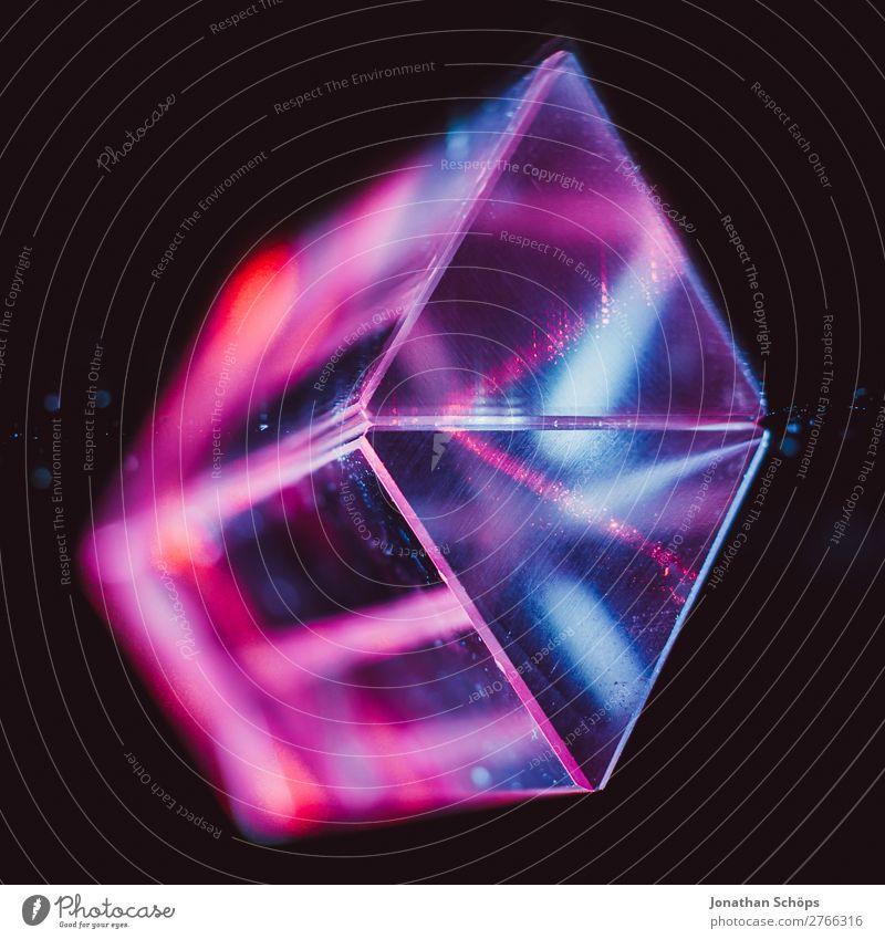 Prisma Laser Sciencefiction Hintergrund Außerirdischer Computer Dreieck Urelemente Teile u. Stücke Glas Hintergrundbild Informationstechnologie