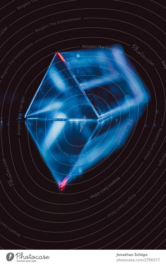 futuristischer Prisma Kristall Hintergrund Außerirdischer Computer Dreieck Glas Hintergrundbild Informationstechnologie Kristallstrukturen Kristalle Laser Licht
